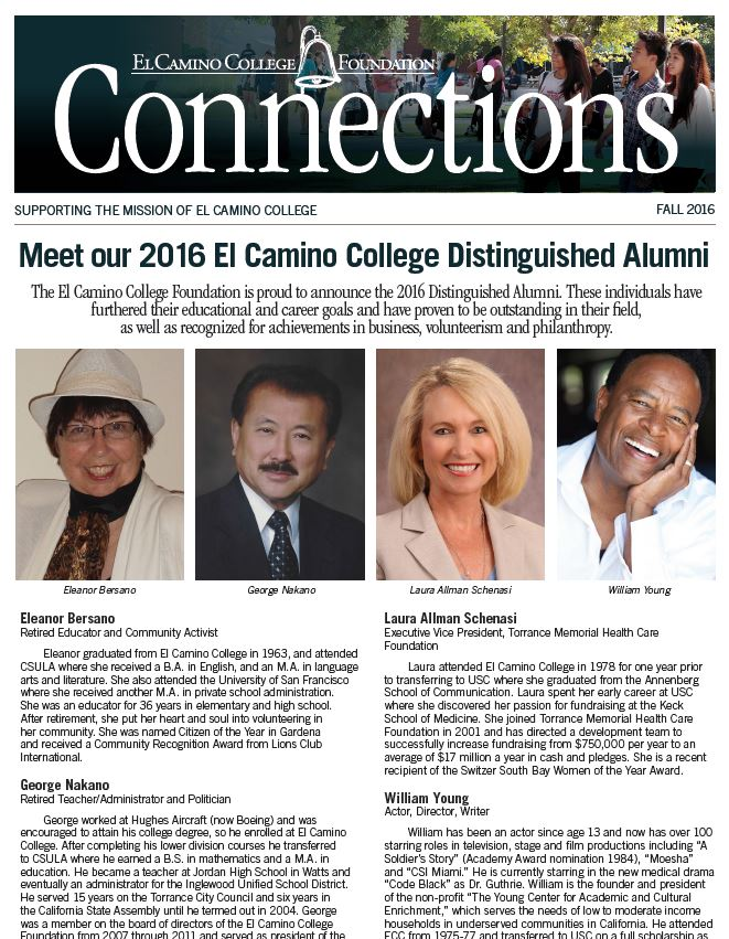 Fall 2015 Connections Newsletter