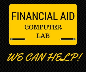 Visit the Financial Aid Computer Lab