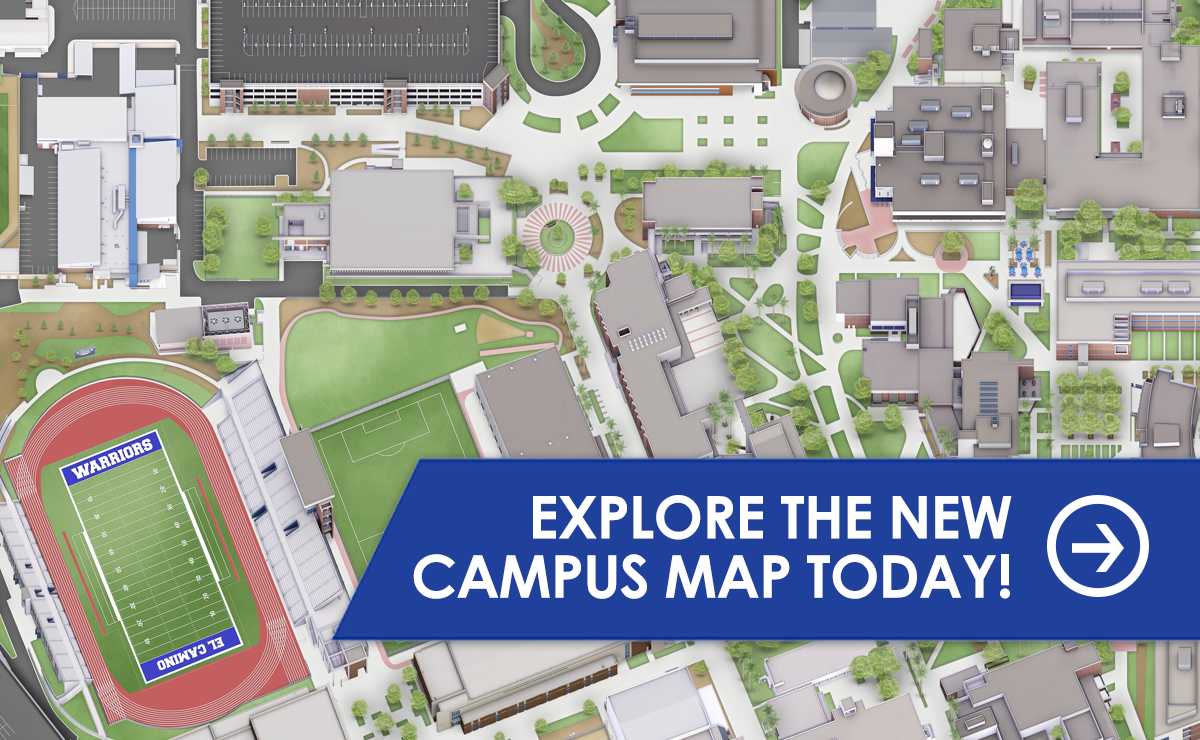 El Camino College Campus Map Campus Map