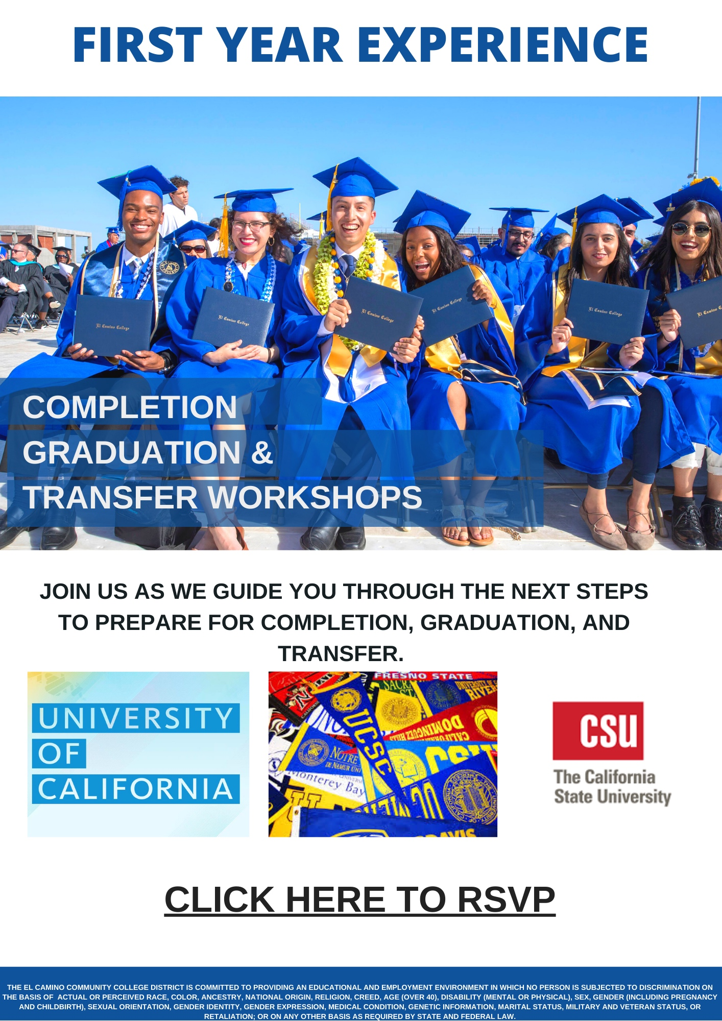 Completion, Graduation, Transfer Workshop