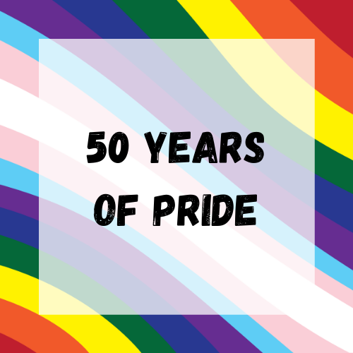 50 Years of Pride Button