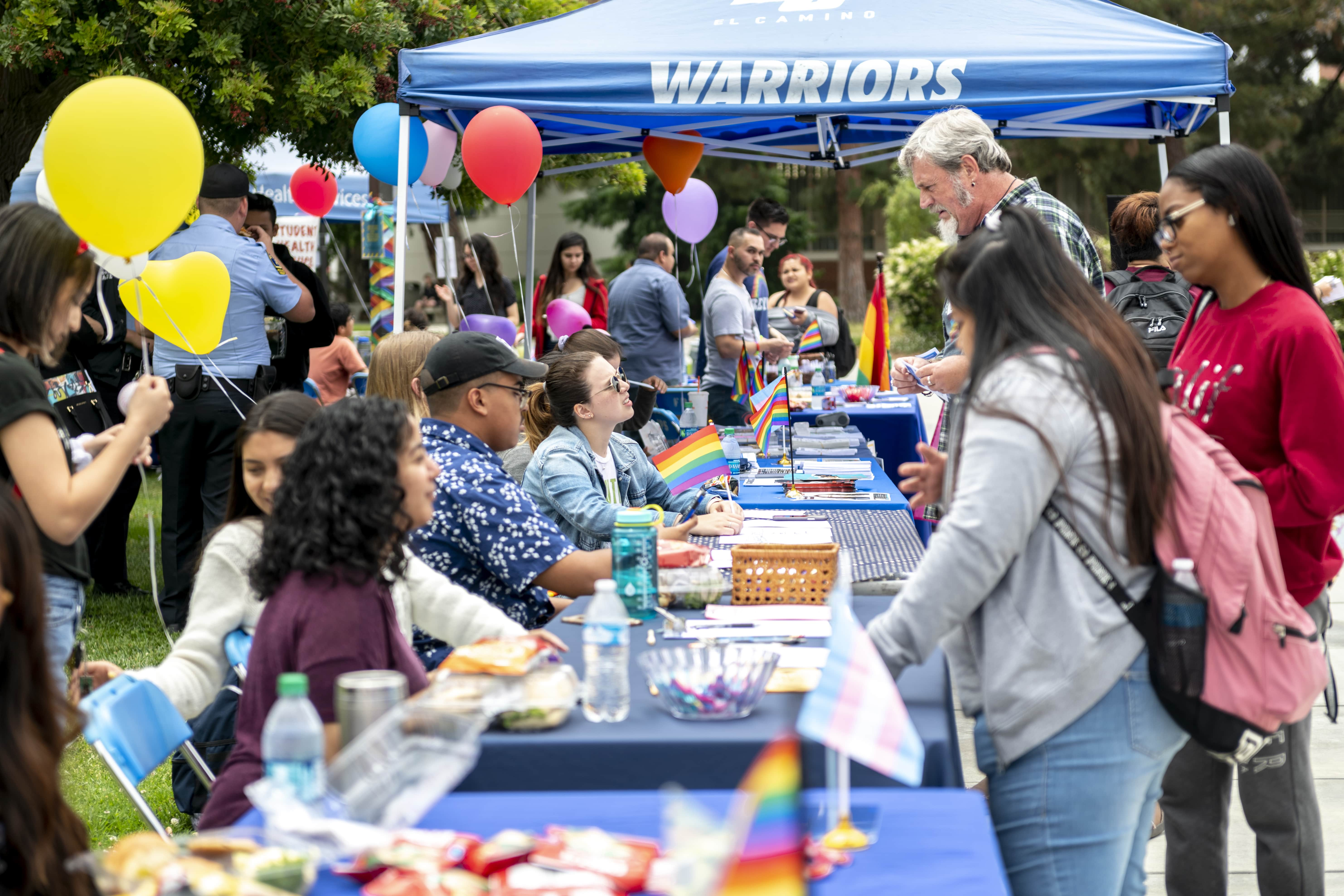 Tabling Events at El Co Pride Fest