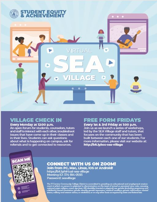 Virtual (SEA) Village flyer